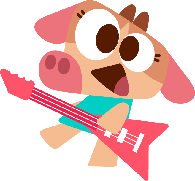 English for kids - Lisa guitar - lingokids