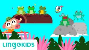lingokids_cancion_Five Green and Speckled Frogs