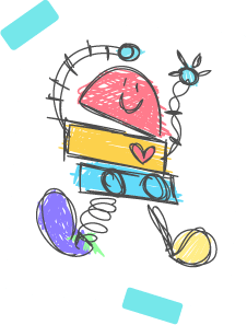 drawing baby bot