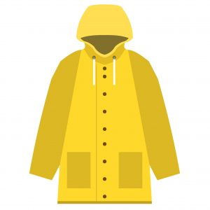 english-for-kids raincoat