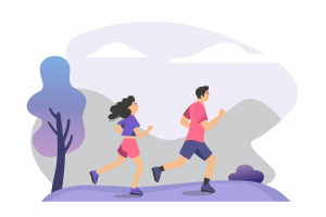 trail running - names of sports - english for kids - lingokids