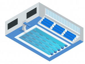 olympic pool - names of sports - english for kids - lingokids