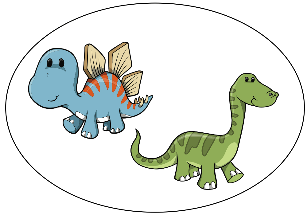 Five little dinosaurs - Audio book 2