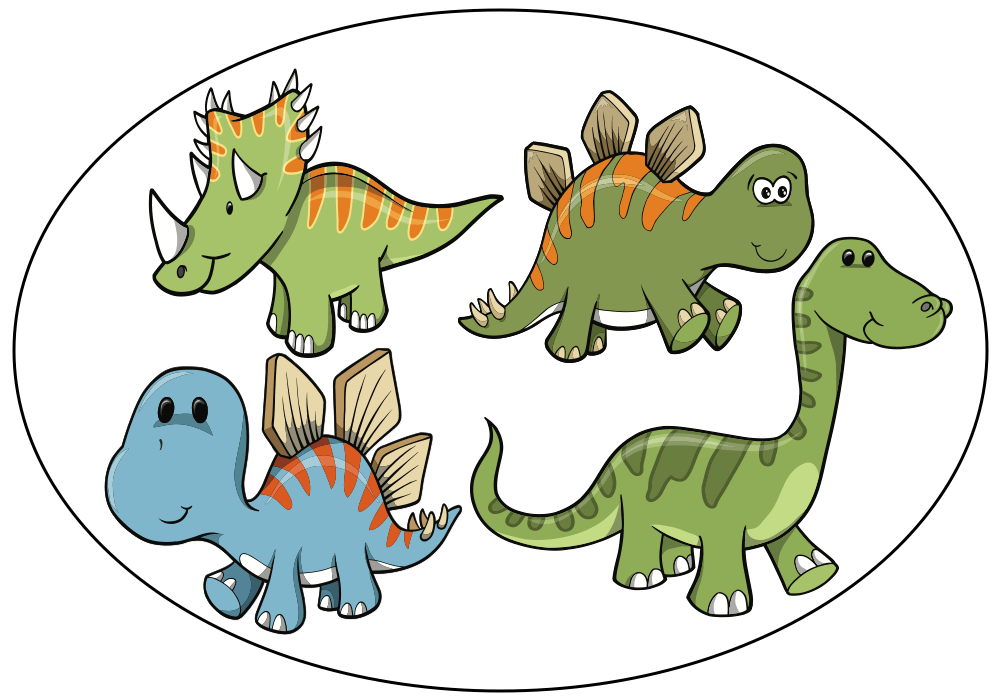 Five little dinosaurs - Audio book 4