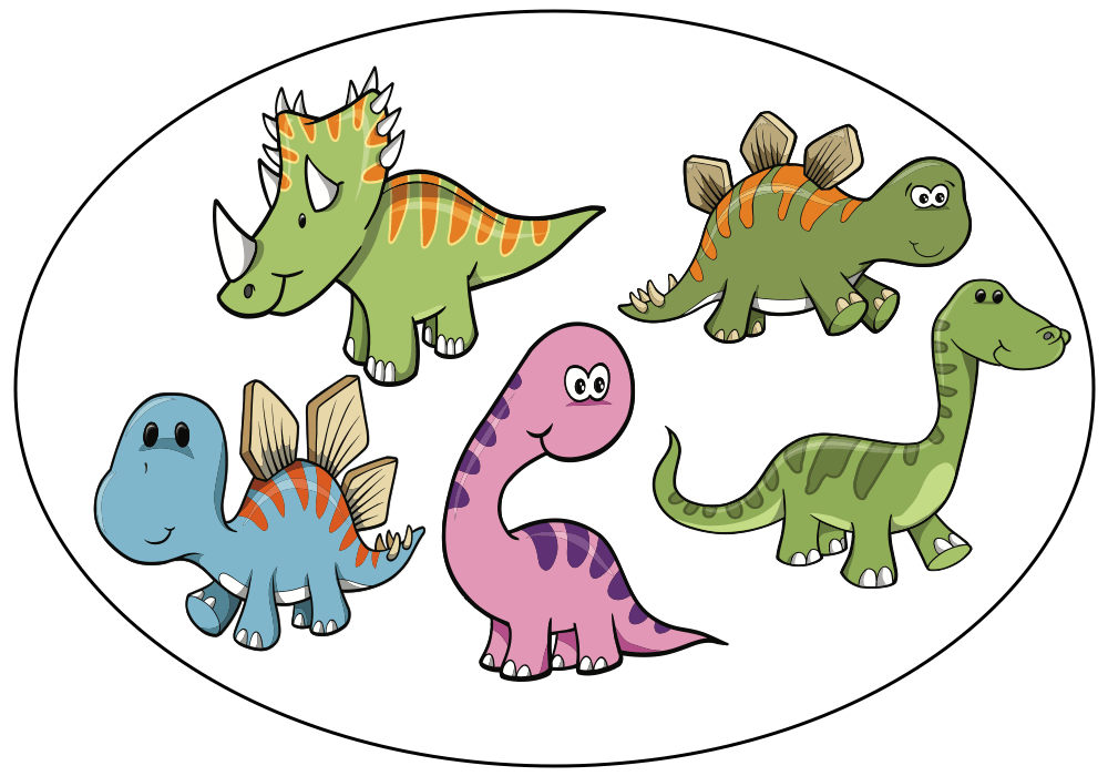 Five little dinosaurs - Audio book 5