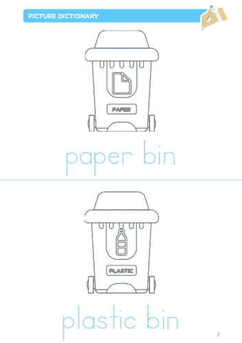 Printable about recycling