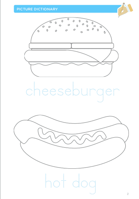 Barbecue coloring pages