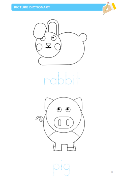 Farm animals printable