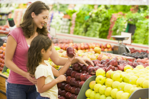 Grocery shopping - Activities to learn about fruits