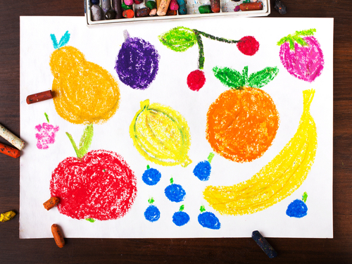 Fruit matching game - Activities to learn about fruits