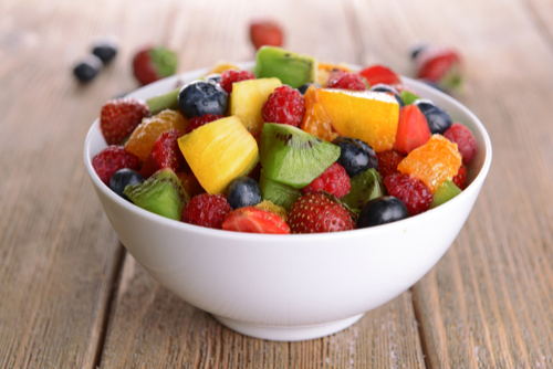Fruit salad - Activities to learn about fruits