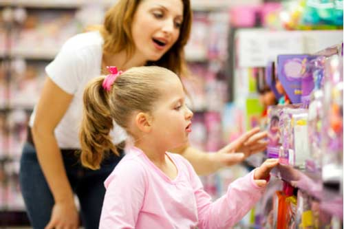 Gift shopping - Activities to learn about toys