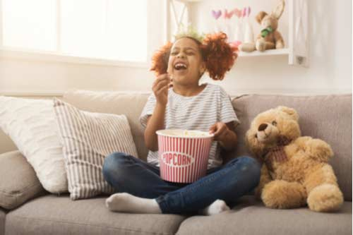 Movie night - Activities to learn about toys