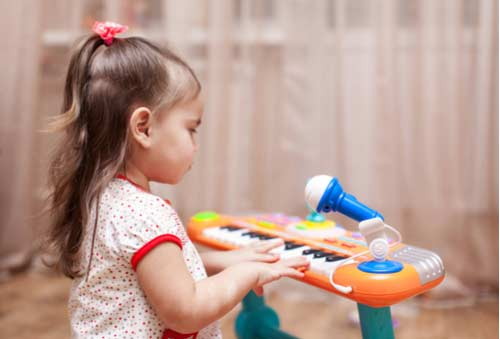 Songs - Activities to learn about toys