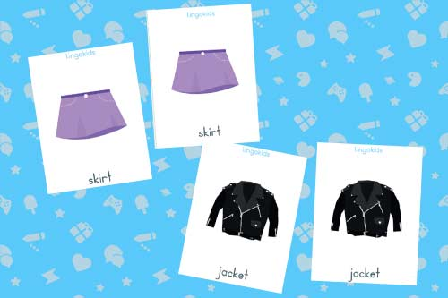 Matching game - Activities to learn about clothes