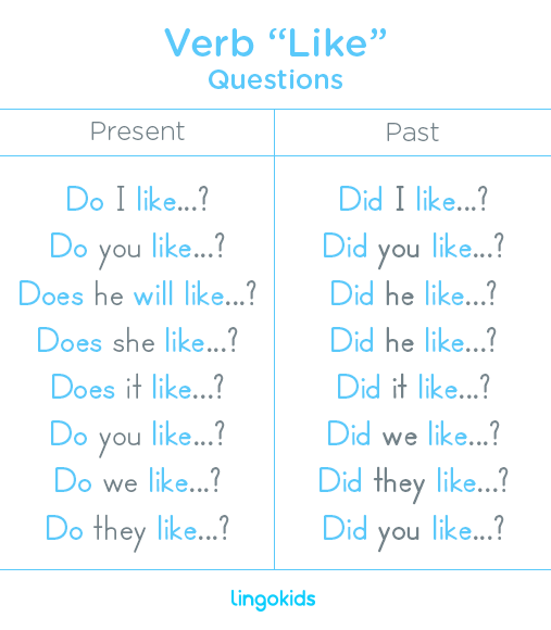 Questions - Verb Like