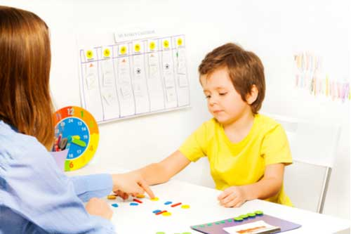 Daily timetable for kids