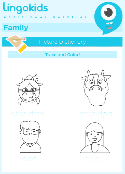 Family printable activities