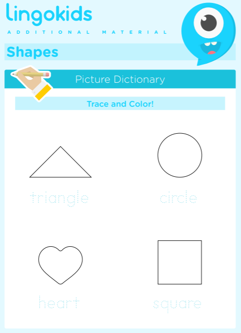 Shapes printable activities