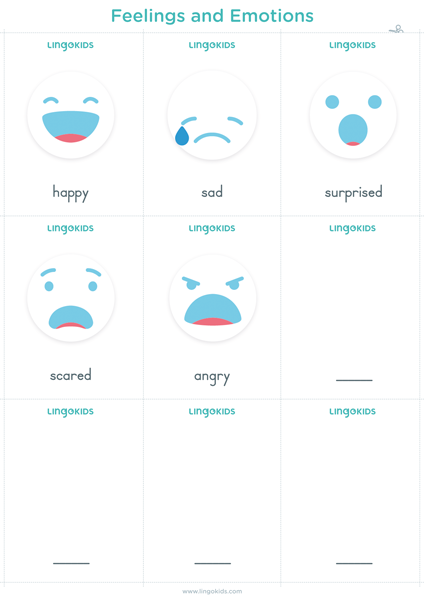 Flashcards: Feelings and Emotions