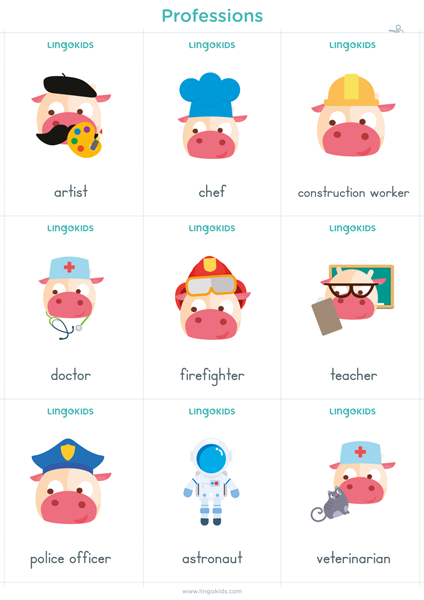 Flashcards: Professions