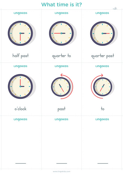 Flashcards: What Time Is It?