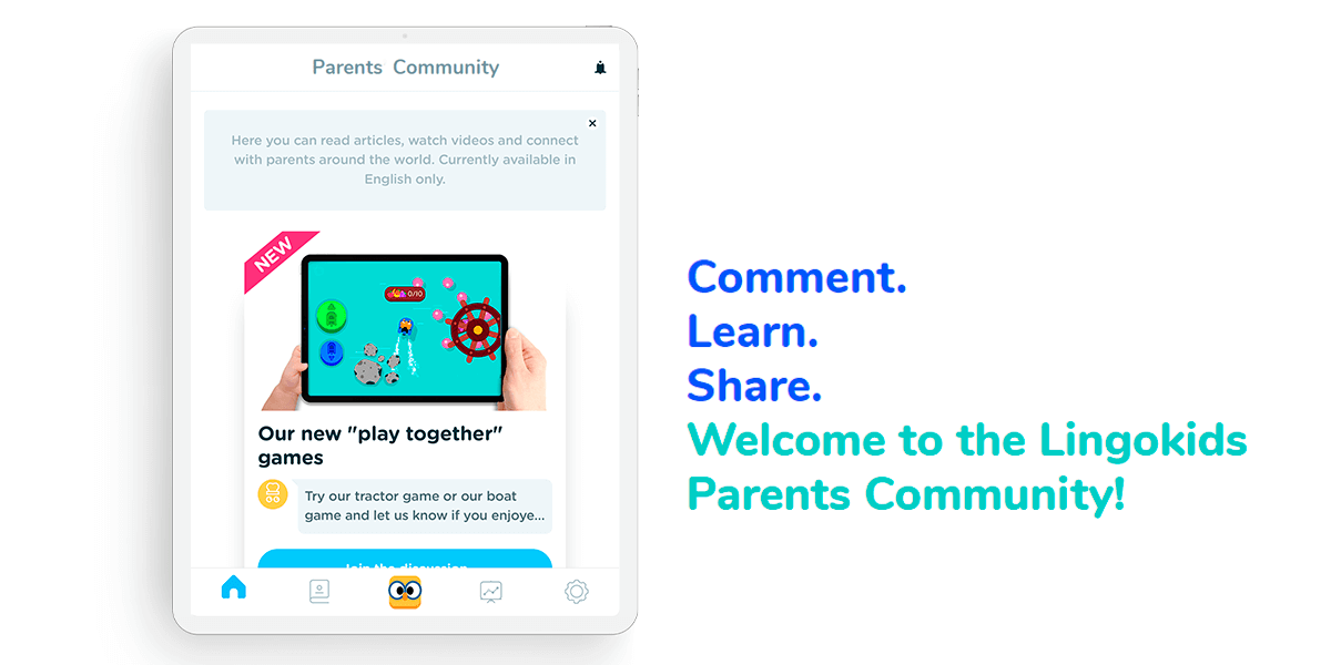 Welcome to the Lingokids Parents Community