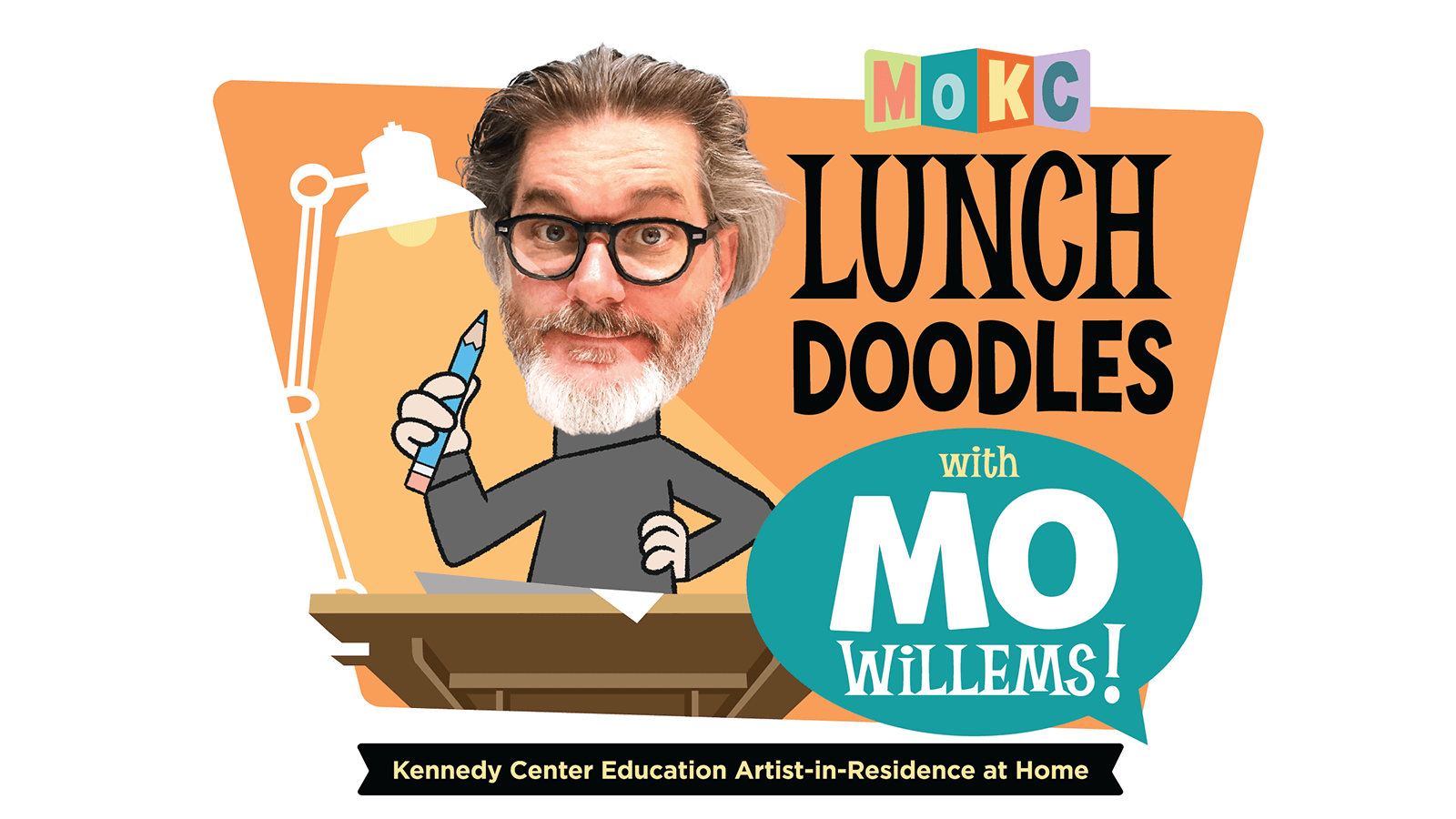 Lunchtime doodles with Mo Willems