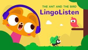 lingolisten_the-ant-and-the-bird_lingokids kids podcast