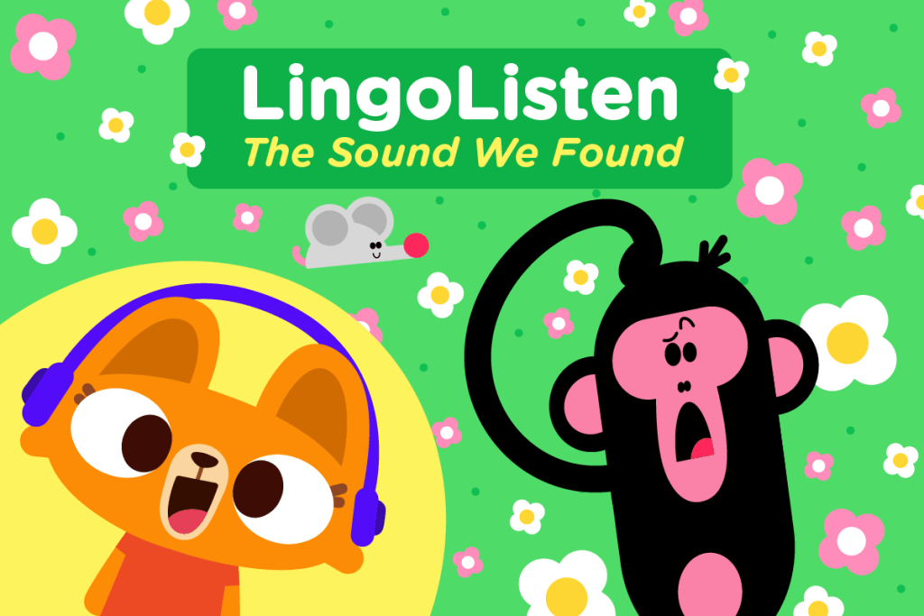 lingolisten the sound we found podcast for kids